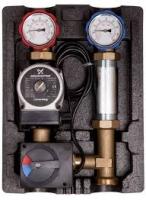 Насосная группа ICMA R001 с автоматической регулировкой (UPS 25-65, сервомотор 230 В)