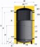 Аккумулирующая емкость KHT EA-10-500 + верхний змеевик (с изоляцией) интернет магазин