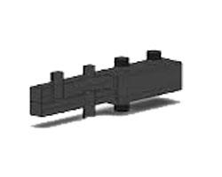 Распределительный коллектор на 2 отопительных контура ОКС-9-2-125-НР интернет магазин