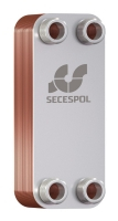 Пластинчатый паянный теплообменник Secespol LA14-10-3/4 10 кВт