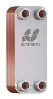Пластинчатый паянный теплообменник Secespol LA14-50-3/4 50 кВт