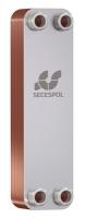 Пластинчатый паянный теплообменник Secespol LA22-40-3/4 40-60 кВт