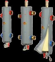 """Гидрострелка Elterm SHE40-OC 25/65 GW 1"""" до 40 квт+изоляция"""