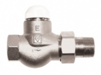 Термокран HERZ TS-E 3/4 прямой (1772302) интернет магазин