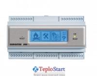 Контроллер угольного котла с питателем, функциями ГВС и управлением смесительным клапаном Euroster UNI 1