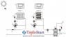 Универсальный погодозависимый командо-контроллер обогревательных контуров Euroster UNI 2 интернет магазин