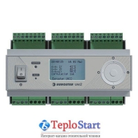 Универсальный погодозависимый командо-контроллер обогревательных контуров Euroster UNI 2