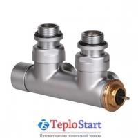 Клапан угловой термостатический для полотенцесушителей TERMA