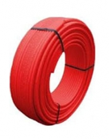 Труба металлопластиковая Kisan 16x2 красная
