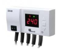 Терморегулятор для циркуляционных насосов KG Elektronik CS-08 (для насоса ЦО и насоса ГВС)