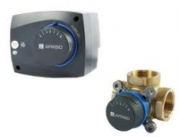 Комплект трехходовой клапан Afriso ARV 382 + электропривод ARM 343